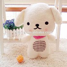 Funny baby dog soft toys /plush dog cushion