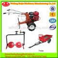 Melhor preço do radiador arrefecido a ar pequeno jardim tractor com cortador de grama, usado trator pequeno ferramentas agrícolas para a venda.