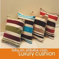 fashion line print cushion