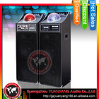 Hot sales! Professional type speaker with disco lights, karaoke loudspeaker with USB, SD, FM,RC