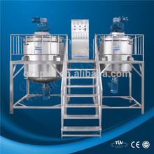 1000L single wall liquid detergent making machine, detergent soap/ hand wash liquid mixing vessel/ tank/mixer