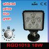 ip68 6500k white/red/yellow/blue/green 9-32v led utv light bar RGD1013 for offroad auto atv suv
