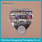 PVC heart-shaped fan for dancing