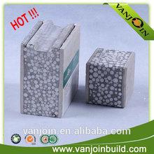 Eco friendly ISO standard EPS foam sandwich insulation wall panel board