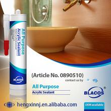 Eco-Friendly Water Based Paintable Bulk Acrylic Sealant
