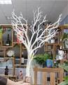artificial de buena calidad blanco secola rama de un árbol de coral