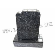 Blue granite small memorial stones