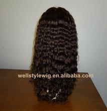 High quality brazilian wigs 100% brazilian virgin all hand made wig