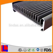 6063-t6 extruded customized heatsink aluminum enclosure
