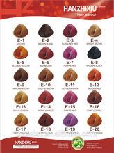 Ice Cream color Hair Dye Chart, Hair Weave Chart (SA-01)