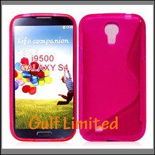 Special design mobile phone cover S line TPU cover case for Sumsung i9500