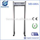 High precision and sensitivity security door frame metal detector and security door