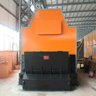 Chain grate coal fired steam boiler double drum