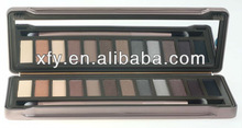 Professional 12 Color Makeup Palette Naked Shades Eye Shadows