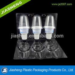 500 G Creamy White Plastic Ice Cream Container
