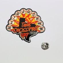 Die cast animal badge emblem lapel pin