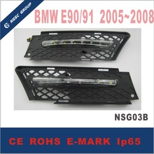 DRL Hiway Daytime Running Light for BMW E90/E91 2005-2008 Top Quality Car Led Lamp Of Universal headlights With Emark