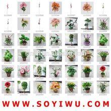 InStock Clearance & FreeSamples & ARTIFICIAL VELVET ROSE FLOWER from Yiwu Market for ARTIFICIAL FLOWER & FRUIT