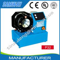 CE high efficiency creative best sell big hose crimper/crimping machine SAMWAY P32