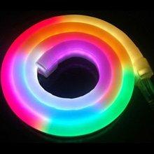 DIY 24V 216LED/M DECORATIVE led rgb neon flex light with pvc material,Shanghai Liyu, #LY-WH-IC Meteor-24V