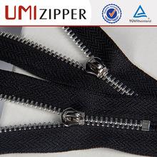 metal zipper top selling luxury enduable used wholesale high quality leather jacket metal zipper