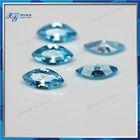 3x6mm Aqua blue marquise shape cz cubic zirconia swiss sapphire crystal glass prices/ sapphire price per carat