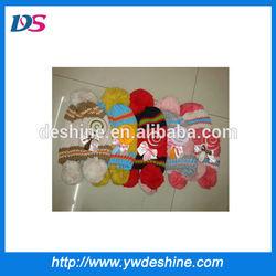 wholesale bonbon knitting patterns children hats MZ573