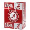 Alabama Crimson Tide Medium wedding door gift paper bag