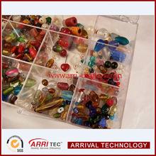 Clear lucite acrylic bead organizer, Acrylic Makeup Organizers