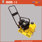 High efficiency easy operation SGS quality diesel plate compactor
