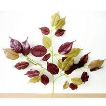 Double colors plant decoration,home decoration