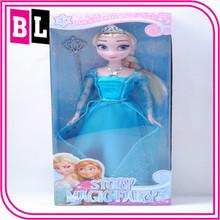 2014 America Hot Selling The Latest Design Frozen Movie Doll Frozen Doll Elsa