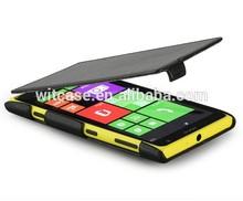 wholesale black pu leather flip case for Nokia lumia 625 case