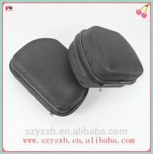 Round waterproof,dustproof ,shockproof headphone earphone zipper case