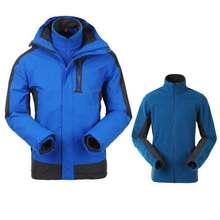 3 in 1 River Salt Jacket for men, mens coats with hood