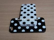 For iphone5/5S Polka dots tpu gel case IMD case