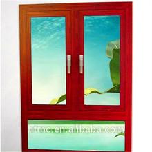 Energy efficient aluminum casement window European standard/casement window frame