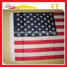Personnaliser Durable promotionnel décorative drapeau américain pour imprimer