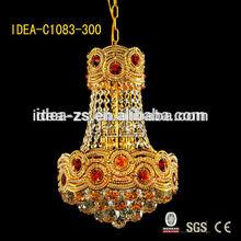 C1083 220V crystal chandelier ,pendant/hanging lamp,crystal glass light