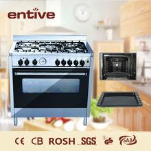 Freestanding gas cooking range
