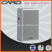"2 way full range 500W 15"" high powered 8ohm speakers"