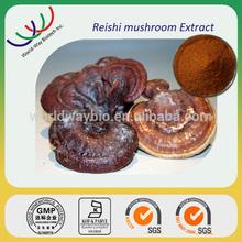 Natural anti-cancer reishi mushroom extract,20% Triterpens&30%polysaccharide,herb medicine red reishi mushroom extract