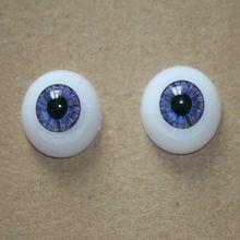 Blue and Purple Half Round Acrylic Eyes big eyes cute reborn doll toy