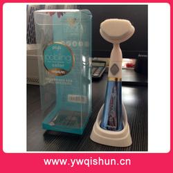 Qishun Wholesale Hot Deep Cleaning Vibration Skin Care Electric Facial Brush
