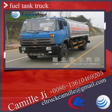 5000 litres used fuel tanker truck ,crude oil tank ,aluminum fuel truck sale