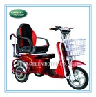 factory supply new design cost effective electric tricycle for adult passenger