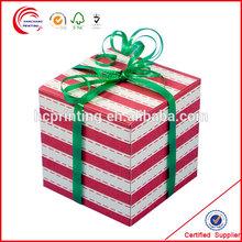 Sock gift set paper packaging for winter socks promotion