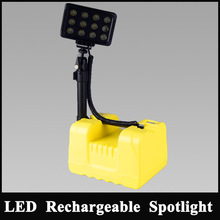Factory Price! 36w High Flux electric LED bright Remote area work light portable mining lighting led industry work light