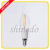 2014 New Design Energy Saving 2W E14 LED Tungsten Filament Candle Bulb light