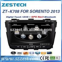 ZESTECH Autoradio Player GPS navigation multimedia system car audio for kia sorento 2013